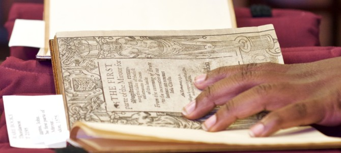 """Holding History offers an intimate encounter with rare books"""